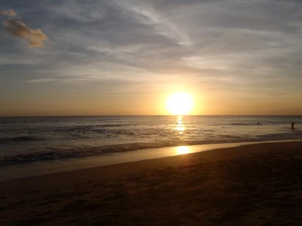 gorgeous Kuta sunset