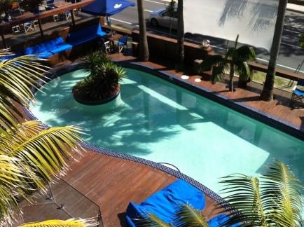 sweet pool @ my hostel