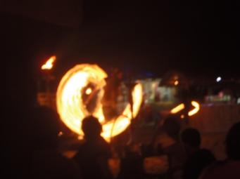 fire show!!